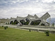 Rest Stops highway restbus station Gori Georgia By J Mayer Architects x