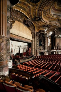 Restoration kicks off today at the Loews Kings Theatre in Brooklyn NY