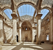 Restoration of the old church of Corbera dEbre Terra Alta Tarragona Spain by Ferran Vizoso
