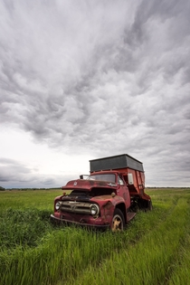 Retired Ford in Nebraska