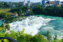 Rhine Falls--The Largest Plain Natural Waterfall in Europe