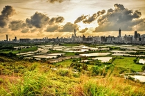 Rice paddies and skyscrapers - Shenzhen China
