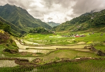 Rice terraces Bated Philippines by Adisimionov