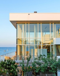 Richard Meier house on Fire Island New York