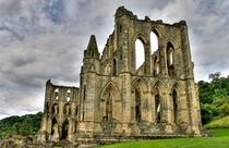 Rievaulx Abbey ruins Abandoned since