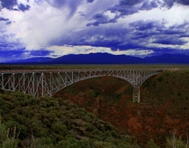Rio Grande Gorge Bridge near Taos NM