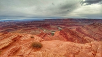 Rio Grande has views but Utah always steals my heart Dead Horse Point State Park UT