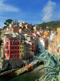 Riomaggiore Cinque Terre Italy Taken this past September on my phone