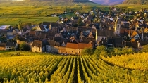 Riquewihr Wine Village in Northeast France