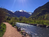 River Hike Telluride Colorado