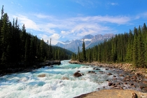 River in Banff National Park Canada  by Jason Hagani