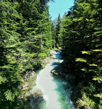 River in the Cascades Washington