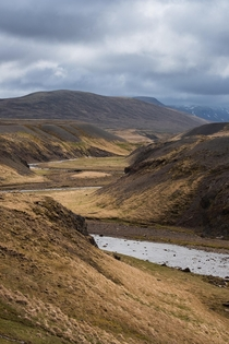 River in the Vatnsnes peninsula in north-west Iceland  IG hedbergphotos