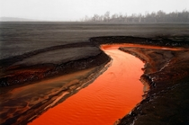 River of blood in Ontario Canada