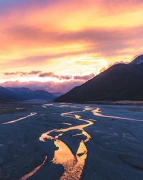 Rivers of gold South Island New Zealand  IG sgjpg