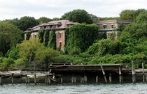 Riverside Hospital exterior North Brother Island NY