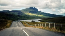 Road A in Scotland