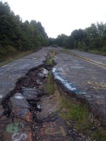 Road to Centralia Pennsylvania