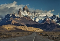Road to the Fitz Roy Mountain