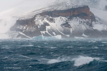 Roaring katabatic winds off the Antarctic ice sheet