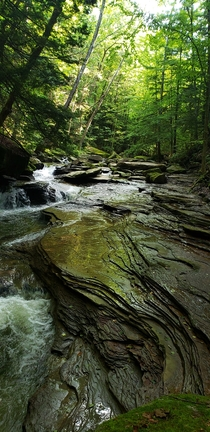 Roaring Run Creek off Rock Furnace Trail near Apollo PA My fav meditation spot