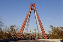 Robert N Stewart Bridge Columbus Indiana November  by Carol M Highsmith