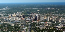 Rochester NY Aerial View