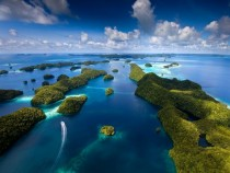 Rock Islands of Palau by Ian Shive