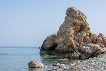 Rock next to the Rock of Aphrodites Beach Cyprus OC x