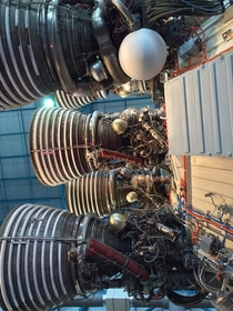 Rocketdyne J- Engines Vacuum Stage on the Saturn