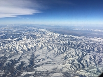 Rockies on a flight to Utah