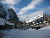 Rocky Mountain Winter - Lake Louise Alberta