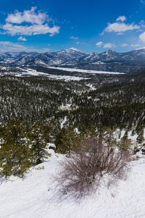Rocky National Park in May After Snow