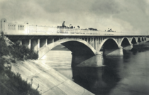 Rocna Bridge Romania  m built in the infrastructure boom period of -