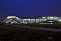 Rolex learning center in Lausanne Switzerland