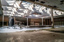 Rolling Acres Mall in Akron Ohio Decaying since closure in  by Johnny Joo article and more photos in comments