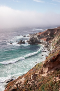 Rolling Wave - Big Sur California