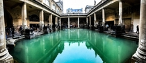 Roman Baths in Bath x