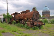 Romanian steam locomotive FalkenberElster Germany