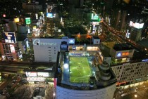 Rooftop Futsal at Shibyua Station Tokyo  x-post from rjapan