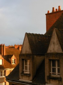Rooftops in Centre France x-post from rWindowPorn