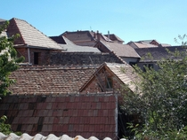 Rooftops in Jina Romania