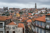 Rooftops of Porto Portugal