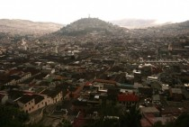 Rooftops of Quito Ecuador