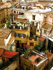 Rooftops of Rome -