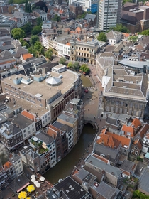Rooftops of Utrecht Netherlands