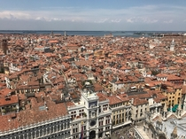 Rooftops of Venice Italy - June