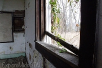 -Room schoolhouse abandoned in  Nature always reclaims