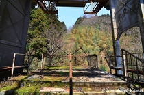 Ropeway Station in a Japanese Spa Town