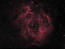 Rosette Nebula light pollution took away some detail but still quite pleased with the result hope you enjoy